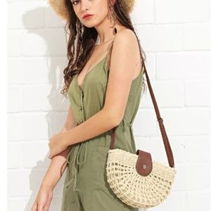 Handbags - **NEW** WOVEN CROSS BODY BAG